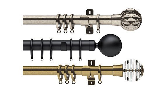 View all Metal Curtain Poles
