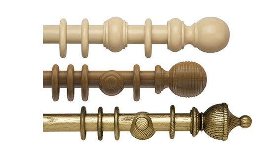 View all Wooden Curtain Poles
