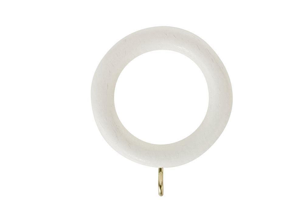 Rolls Honister 28mm Wooden Rings Linen White