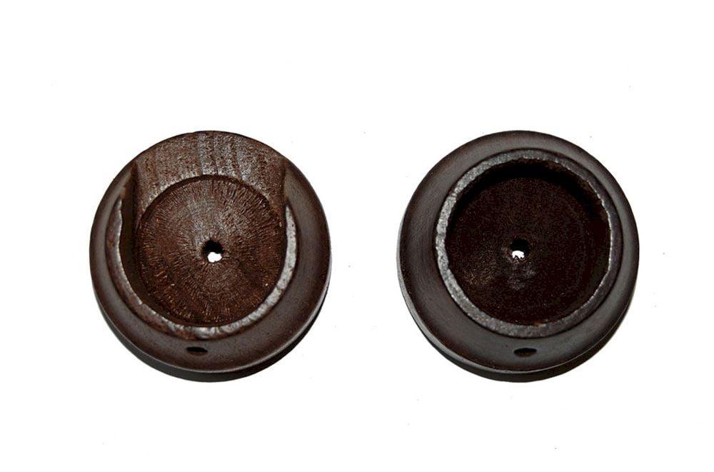 Rolls 35mm Woodline Dark Oak Recess Bracket