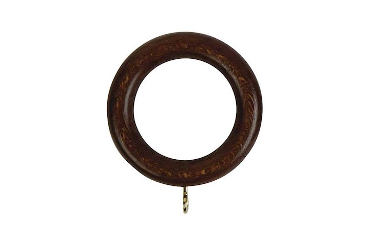 Rolls 28mm Woodline Wooden Rings Dark Oak