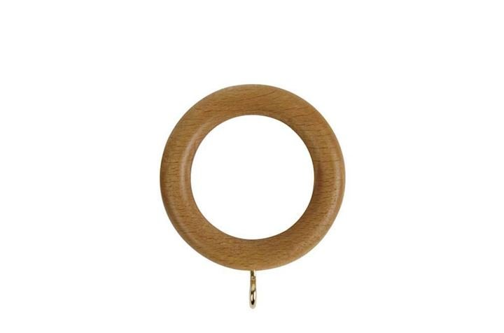Rolls 28mm Woodline Wooden Rings Light Oak