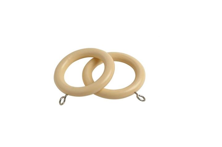 Speedy 28mm County Cream Wooden Rings