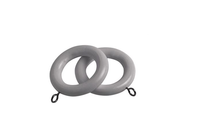 Speedy 28mm County Light Grey Wooden Rings