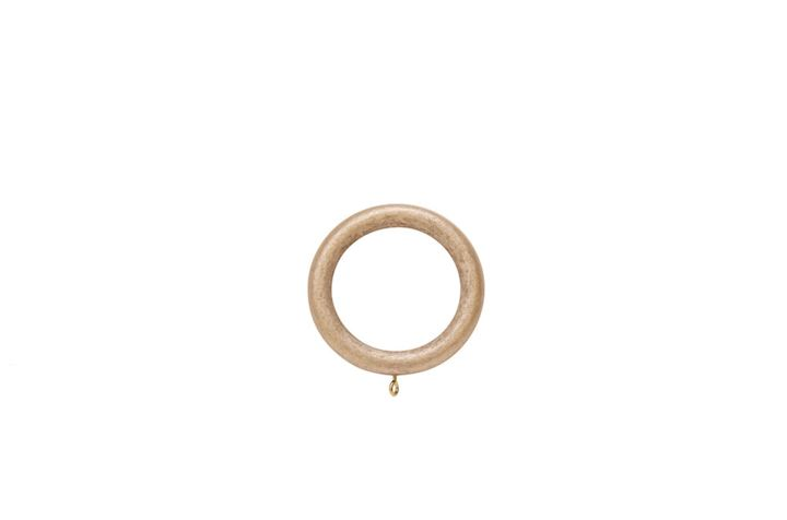Hallis 35mm Museum Wooden Rings Satin Oyster