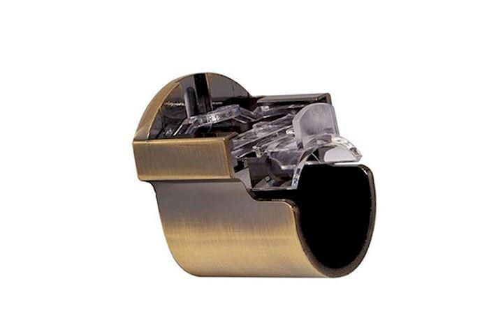 Speedy 35mm Recess Bracket Antique Brass