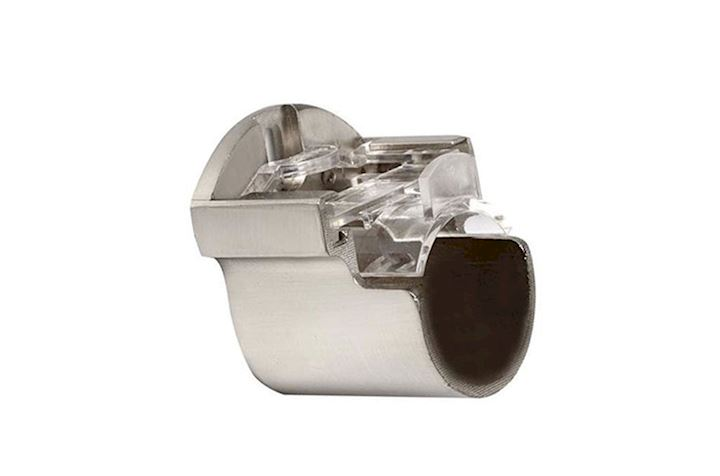 Speedy 35mm Recess Bracket Satin Silver