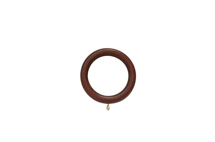Hallis 35mm Museum Wooden Rings Mahogany