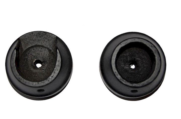 Rolls 50mm Woodline Black Recess Bracket