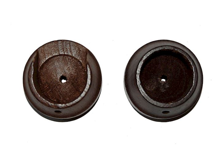 Rolls 50mm Woodline Dark Oak Recess Bracket