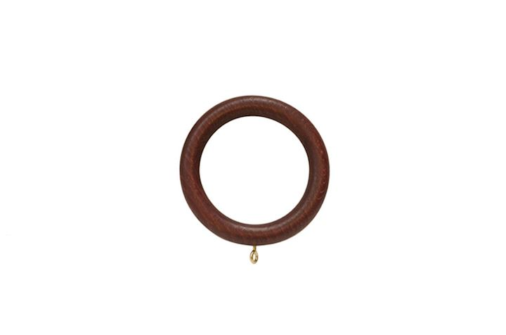 Rolls 55mm Museum Wooden Rings Mahogany
