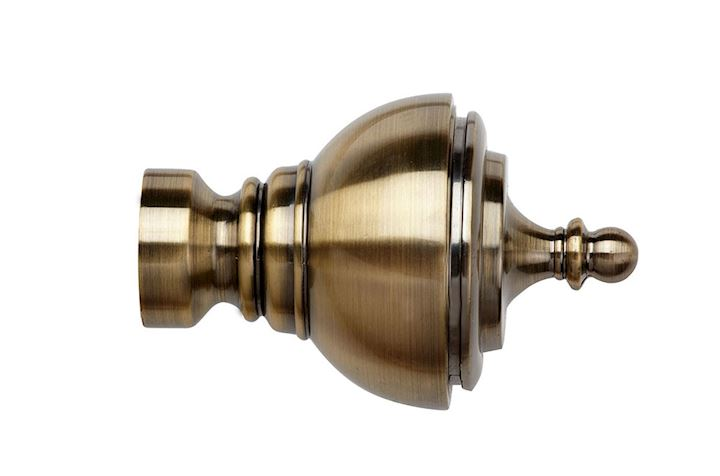 Speedy 28mm Vienna Finial  Antique Brass