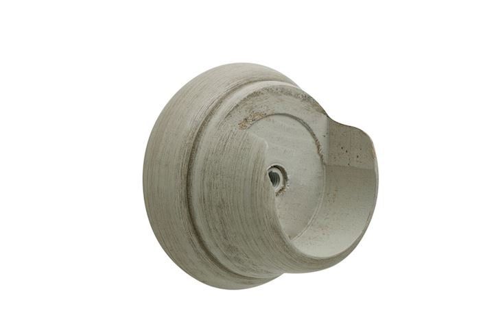 Hallis 35mm Origins Flint Grey Wooden Recess Brackets