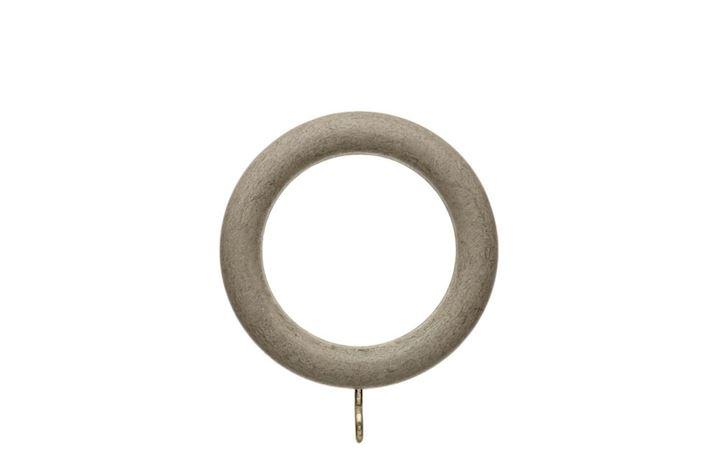 Hallis 35mm Origins Millstone Grey Wooden Rings