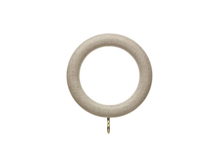 Hallis 35mm Origins Flint Grey Wooden Rings