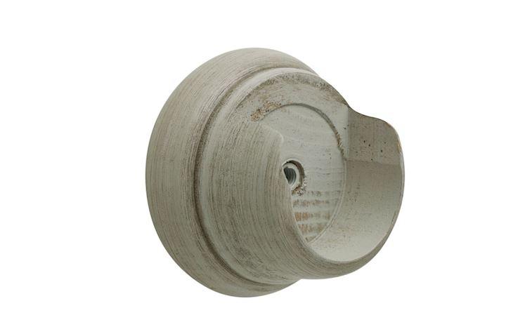 Hallis 45mm Origins Flint Grey Wooden Recess Brackets