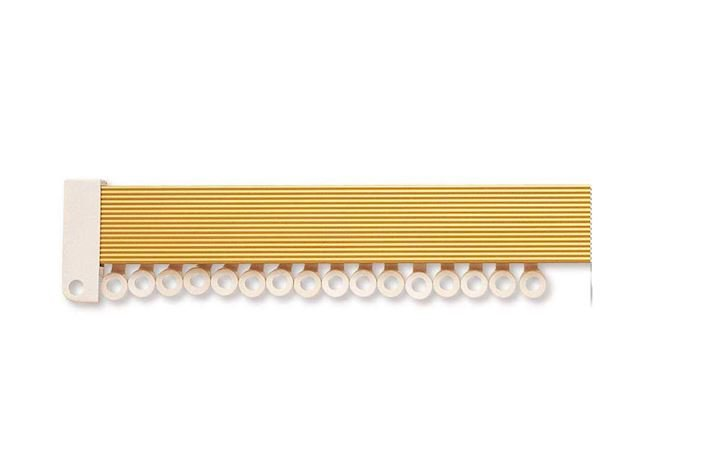 Hallis Superglide Uncorded Metal Curtain Track Gold