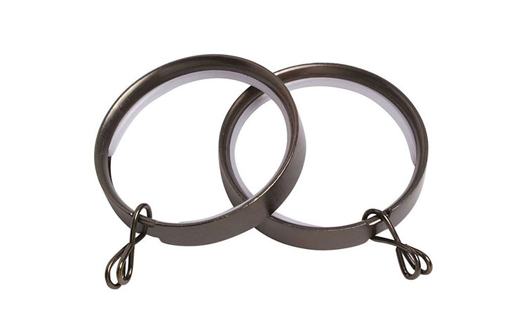 Speedy 28mm Lined Polished Graphite Rings