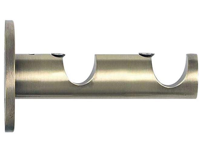 Rolls 19/28mm Neo Metal Double Bracket Spun Brass