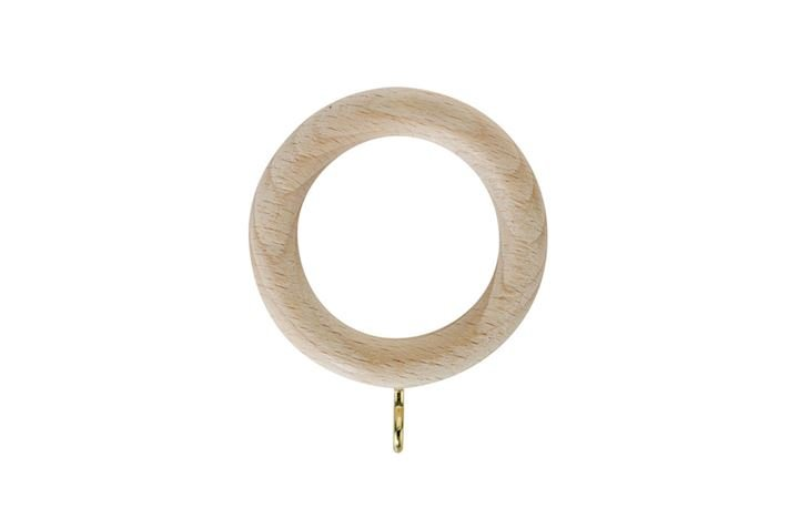 Rolls 28mm Unfinished Wooden Rings