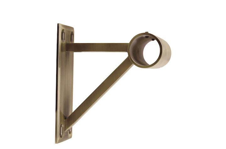 Rolls Neo 35mm End Bracket Spun Brass