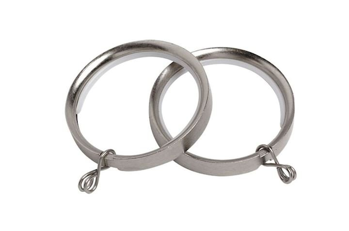 Speedy 28mm Lined Rings Satin Silver