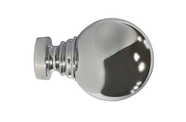 Speedy 35mm Globe Chrome Finial