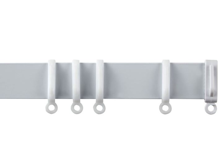 Speedy Streamline Uncorded Curtain Track Aluminium