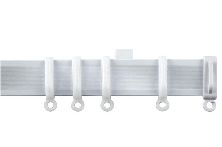Speedy Streamline Uncorded Curtain Track PVC