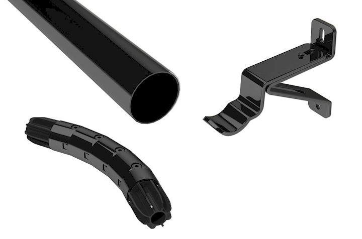 Swish Design Studio 28mm Graphite Bay Return Kit