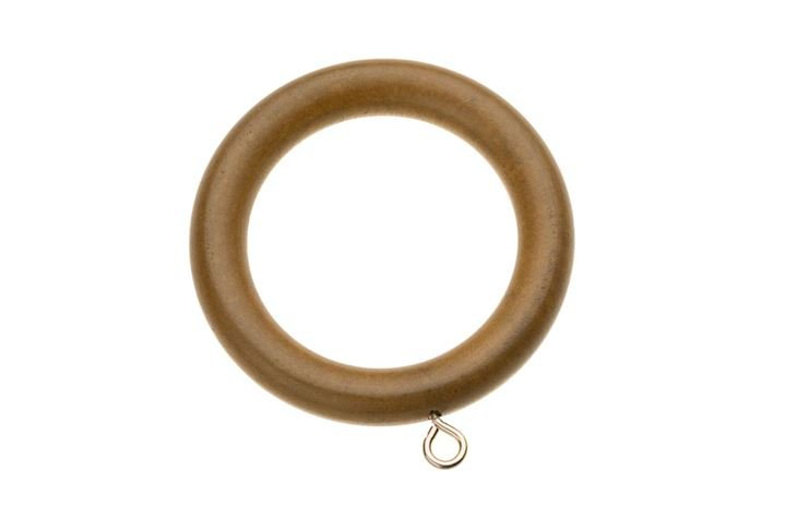 Swish 35mm Naturals Aged Oak Wooden Rings