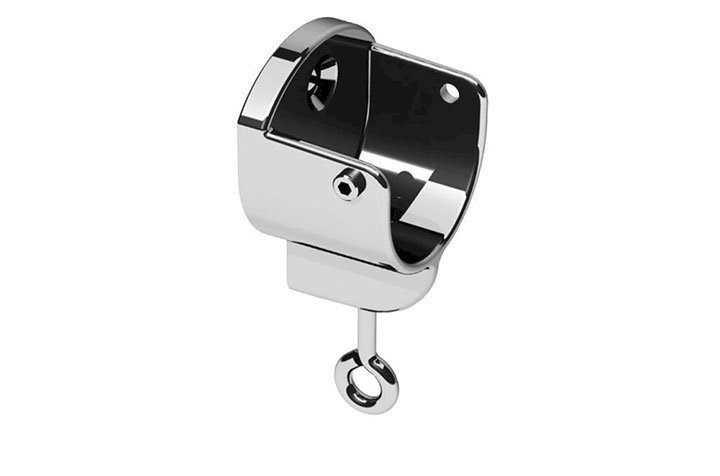 Swish 35mm Recess Bracket Chrome