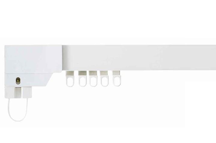 Swish Superluxe White PVC Corded Track