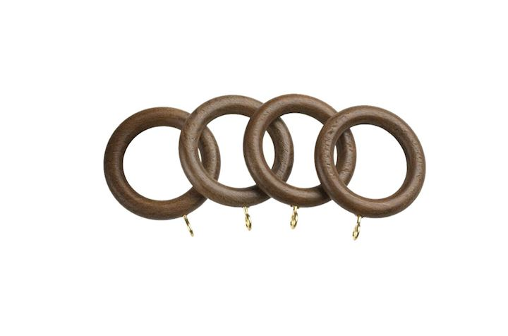 Universal 28mm Walnut Wooden Rings