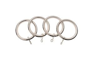Universal 19mm Satin Steel Rings