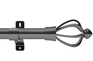 Swish 28mm Design Studio Consort Graphite Eyelet Pole - Thumbnail 1