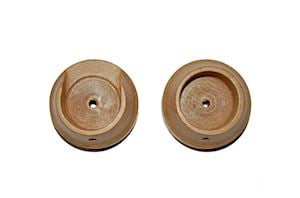Rolls 28mm Woodline Light Oak Recess Bracket