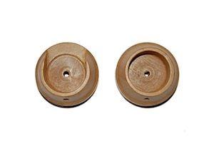 Rolls 28mm Woodline Light Oak Recess Bracket