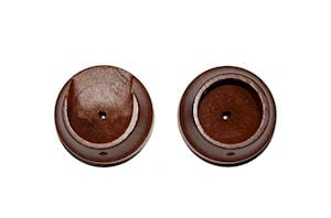 Rolls 28mm Woodline Rosewood Recess Bracket