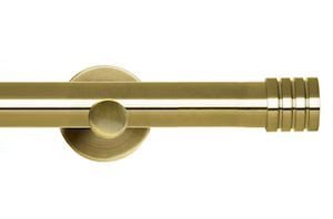 Rolls 35mm Neo Stud Metal Eyelet Pole Spun Brass