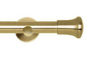 Rolls 35mm Neo Trumpet Metal Eyelet Pole Spun Brass
