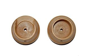 Rolls 35mm Woodline Light Oak Recess Bracket