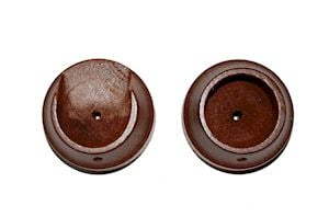 Rolls 35mm Woodline Rosewood Recess Bracket