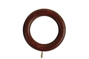 Rolls 50mm Woodline Wooden Rings Rosewood