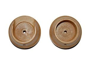 Rolls 50mm Woodline Light Oak Recess Bracket