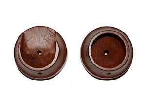 Rolls 50mm Woodline Rosewood Recess Bracket