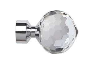 Speedy 28mm Bella Finial Chrome