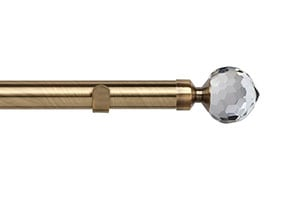 Speedy 28mm Bella Eyelet Pole Antique Brass
