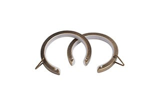 Speedy 35mm Passing Rings Antique Brass