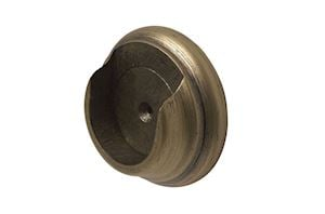 Rolls 55mm Modern Country Gold Black Recess Bracket